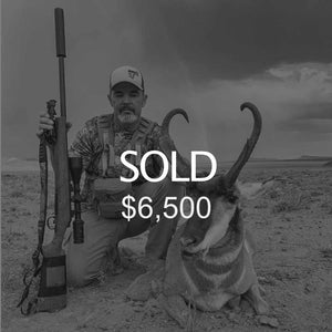 Lot #17: 2020 San Rafael, North; Buck Pronghorn: Any Legal Weapon