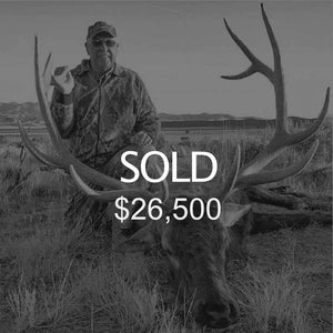 Lot #2: 2020 Pahvant; Landowner Bull Elk
