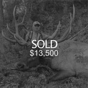 Lot #3: 2020 Box Elder, Grouse Creek; Bull Elk - Multi-Season