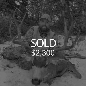 Lot #9: 2020 North Slope, Summit; Buck Deer: Any Legal Weapon