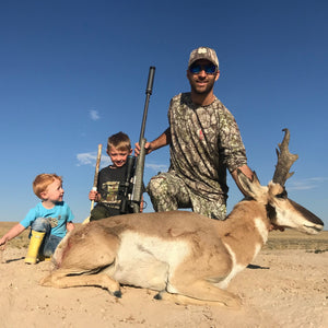 Utah Antelope Hunt: Guided by Wade Lemon