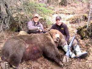 Alaska Premier Outfitters Presents a 2022 Alaska Brown Bear Hunt