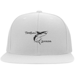 Shark Flat Bill Twill Flexfit Cap