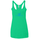 Ladies' Moon Tree Triblend Racerback Tank