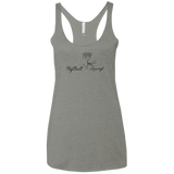 Ladies' Rose Triblend Racerback Tank