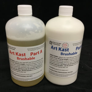 ArtKast Brushable Resin - All Kit Sizes - Fox and Superfine