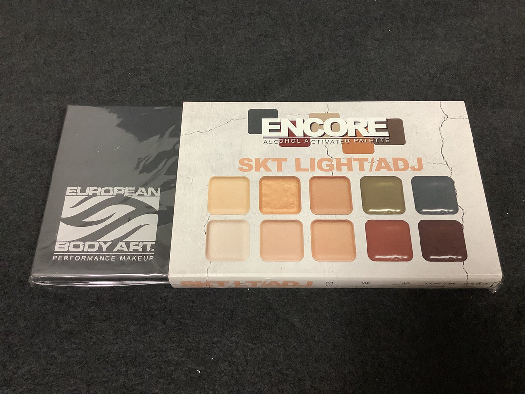 EBA Light Skin Palette With Adjusters - Fox and Superfine