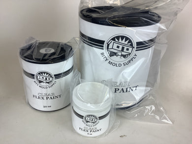Flex Paint Base Clear - All Sizes - Fox and Superfine