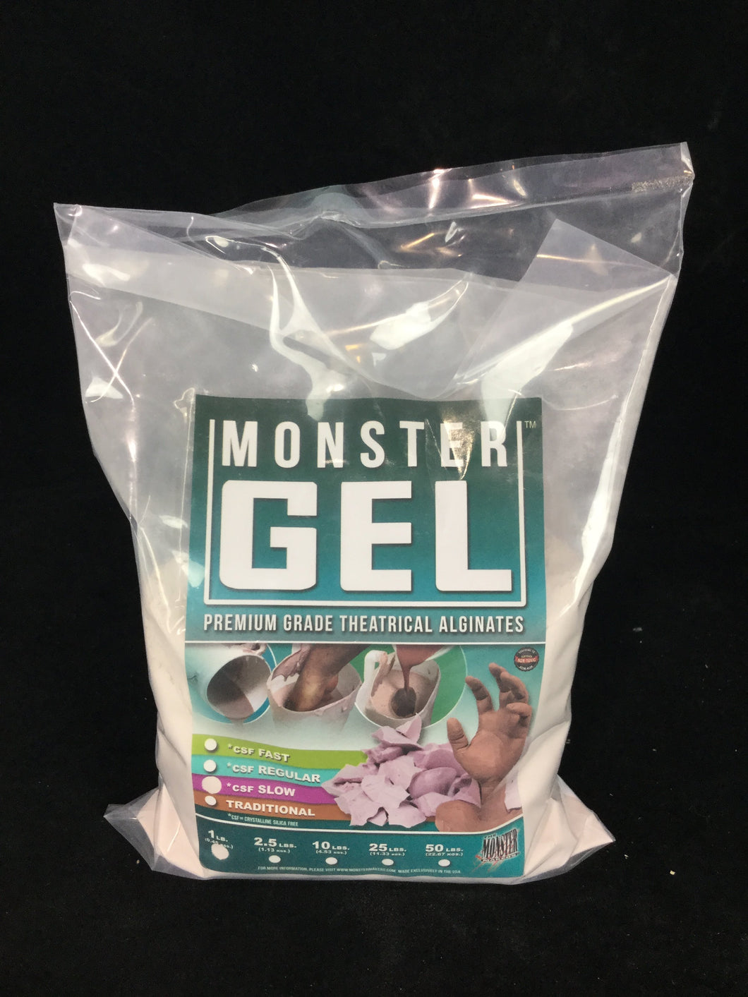 Monster Gel™ CSF Slow Set - All Sizes - Fox and Superfine
