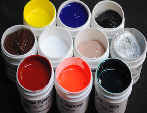 Silicone Pigment - All Sizes - Fox and Superfine