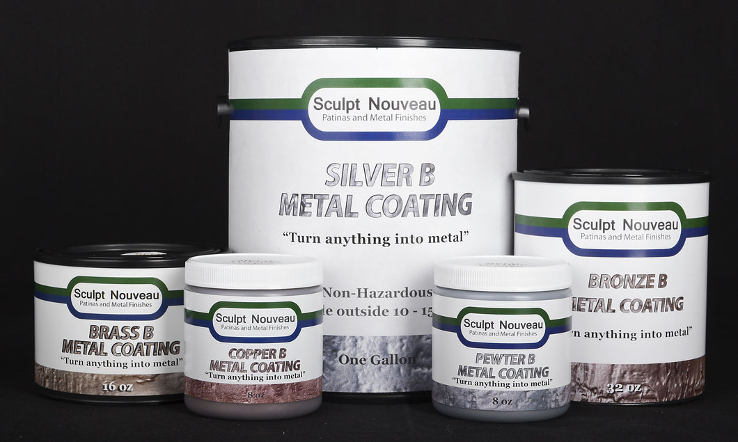 Type B Metal Coatings - All Sizes - Fox and Superfine