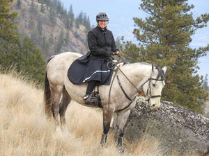 Happy Horse Riding Skirt Mountain Ride