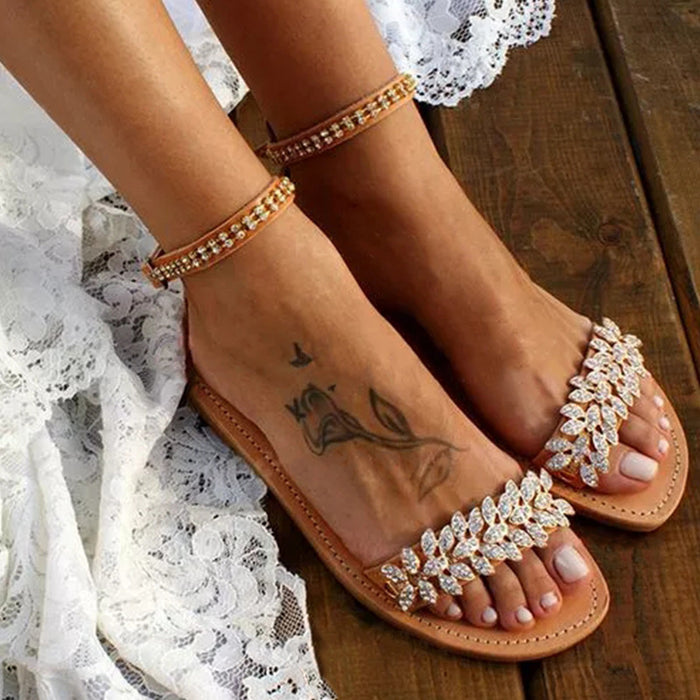 Women Plus Size Chic Casual Date Sandals