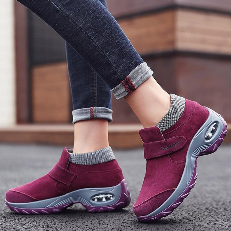 JellyNova Women Plus Size Casual Sneakers Athletic Shoes