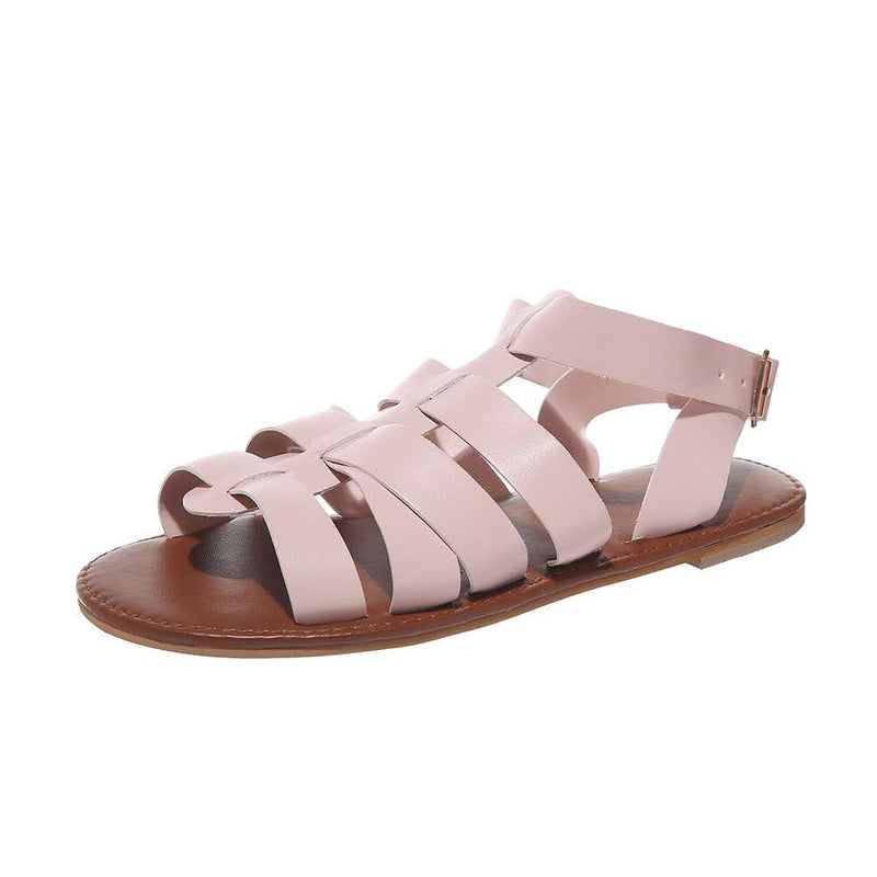 Fashion Fish Mouth Roman Sandals