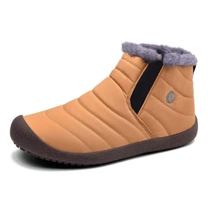 Waterproof Fur Lined Slip On Boots