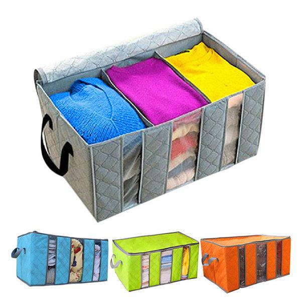 65L Deodorant Bamboo Charcoal Storage Bag Box