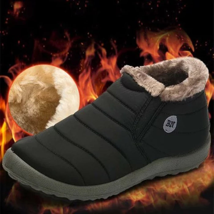Women Snow Booties Casual Comfort Warm Plus Size Waterproof Shoes