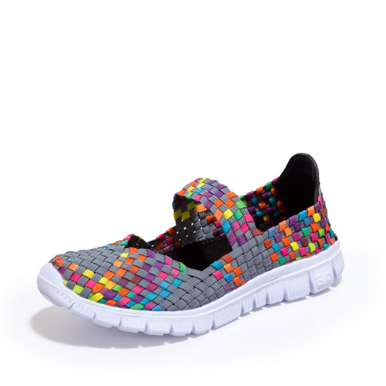 Women's Slip-On Sports Sneakers Walking Platform Shoes