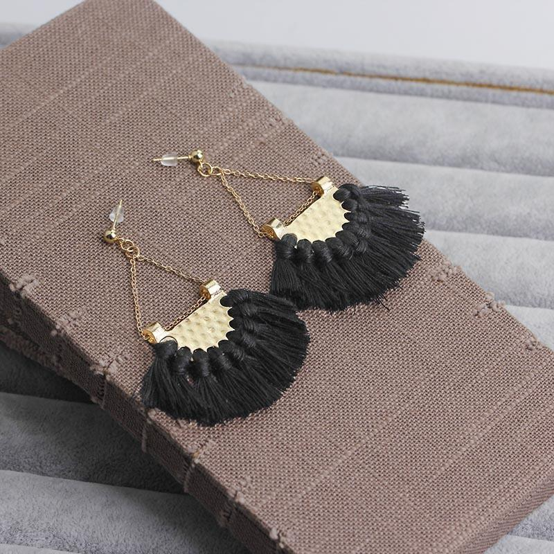 Boho Vintage Tassels Earrings