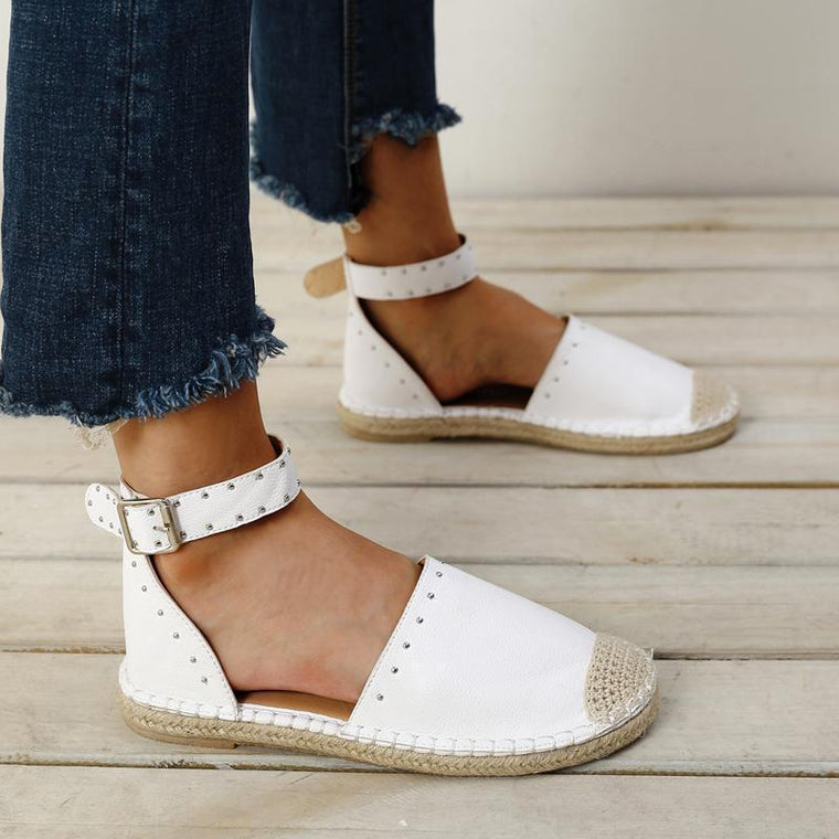 Casual Fashion Hemp Rope Flat Shoes