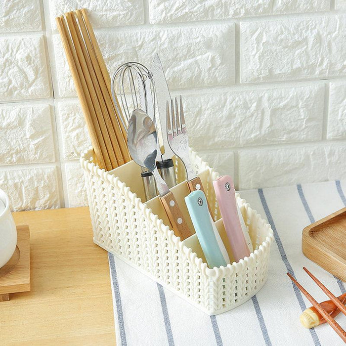 Cosmetic Storage Basket Office Kitchen Desktop Storage Consolidation Box