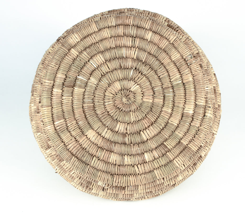bottom of woven basket