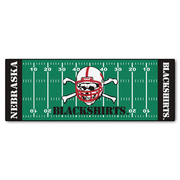 "Nebraska Blackshirts Football Floor Runner (29.5""x72"")"