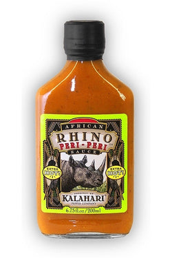 African Rhino Peri-Peri Pepper Sauce - Hot 1 Bottle