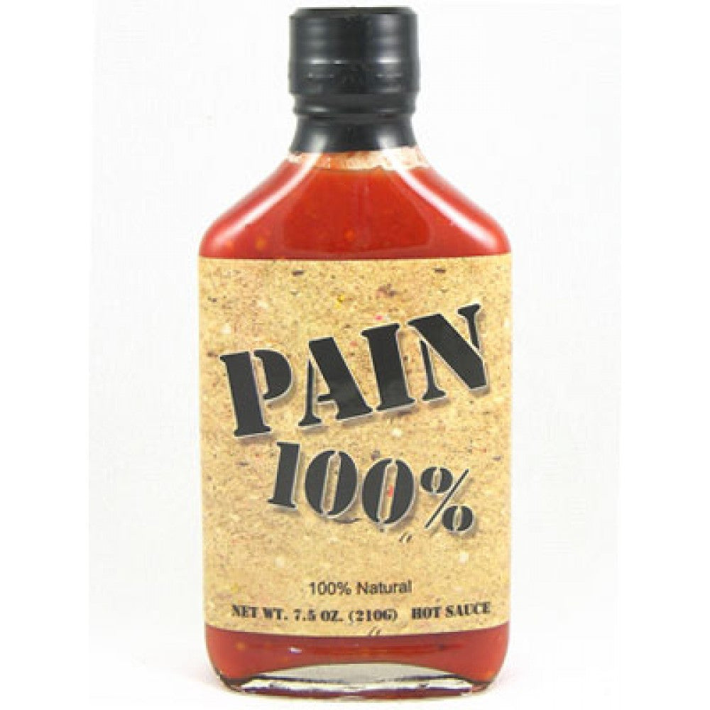Original Juan's Pain 100 Percent Hot Sauce