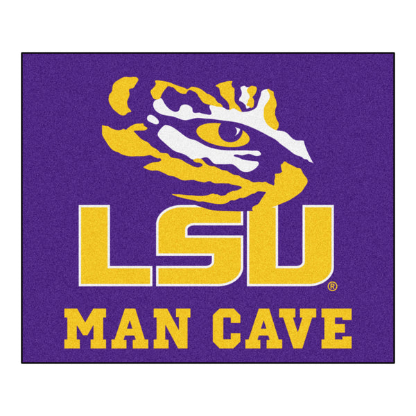 "LSU Tigers NCAA Man Cave ""Tailgater"" Floor Mat (60in x 72in)"