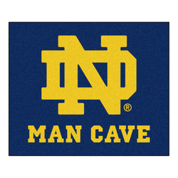 "Notre Dame Fighting Irish NCAA Man Cave ""Tailgater"" Floor Mat (60in x 72in)"