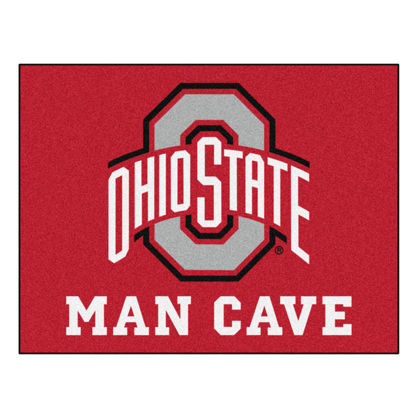 "Ohio State Fan Mats Man Cave All-Star Mat 34"" X 45"""