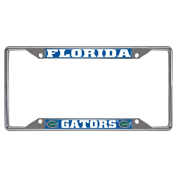 "Florida Fan Mats License Plate Frame 6-1/4"" X 12-1/4"""