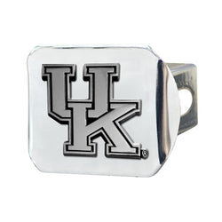 Kentucky Chrome Metal Collegiate Hitch Cover