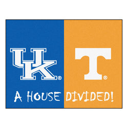 "Kentucky/Tennessee House Divided NCAA ""All-Star"" Floor Mat (34""x45"")"