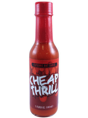 Cheap Thrills Cayenne Hot Sauce