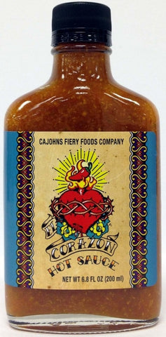 Cajohns El Corazon Hot Sauce