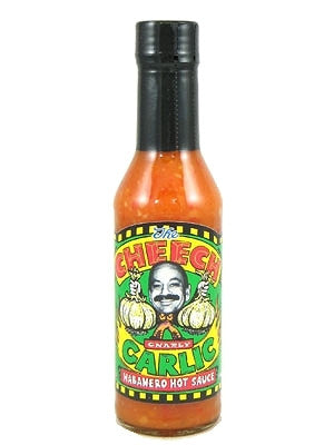 Cheech Gnarly Garlic Habanero Hot Sauce