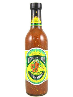 Ring of Fire Garden Fresh Chile Sauce Hot Sauce