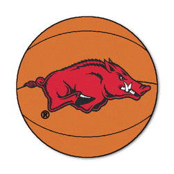 "Arkansas ""Basketball"" Round Floor Mat (29"")"