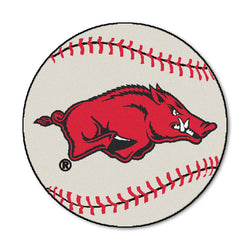 "Arkansas ""Baseball"" Round Floor Mat (29"")"