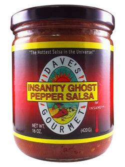 Dave's Gourmet Insanity Ghost Pepper Salsa