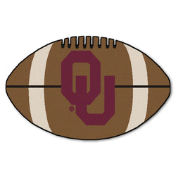 "Oklahoma Sooners ""Football"" Floor Mat (22""x35"")"