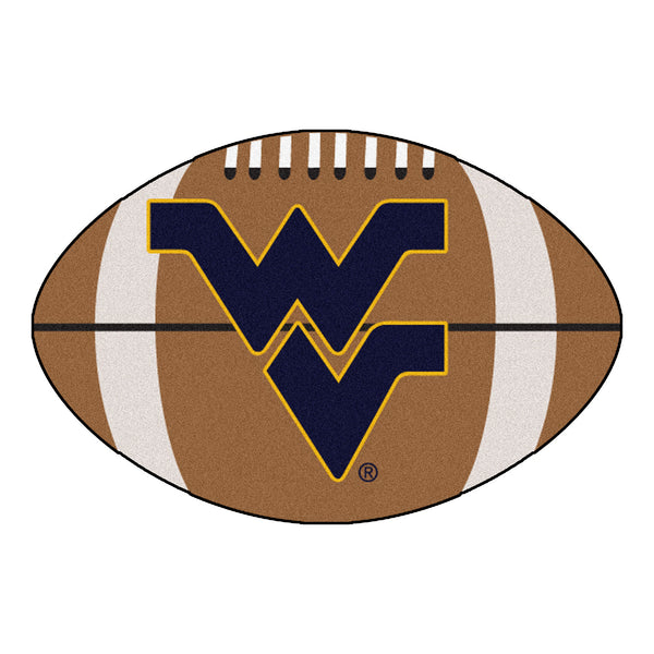 "West Virginia ""Football"" Floor Mat (22""x35"")"