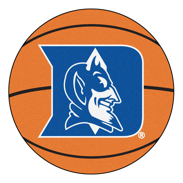 "Duke ""Basketball"" Round Floor Mat (29"")"