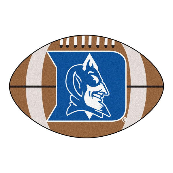 "Duke ""Football"" Floor Mat (22""x35"")"