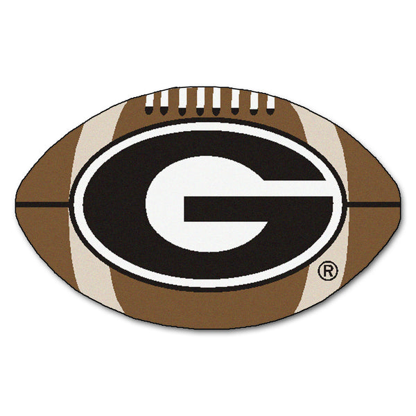 "Georgia Bulldogs ""Football"" Floor Mat (22""x35"")"