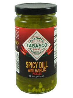 Tabasco Spicy Garlic Dill Pickles