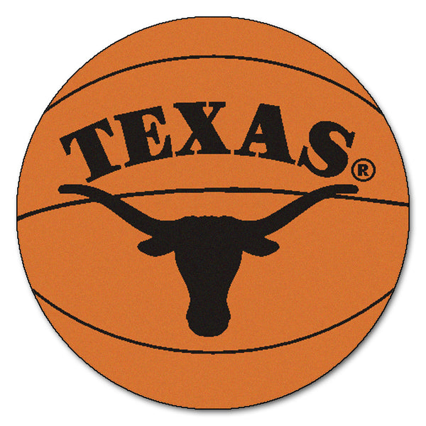 "Texas ""Basketball"" Round Floor Mat (29"")"
